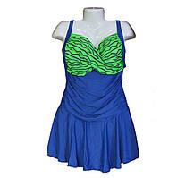 Купальник платье большого размера 54-60р