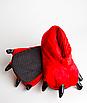 Домашние тапочки лапки кигуруми Красные, фото 4