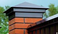 КОЛПАКИ на столбы, КРЫШКИ на забор, Шапка на забор, Накрывка на столб, фото 1