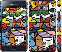 "Чехол на Samsung Galaxy S2 i9100 Витраж ""2836c-14"""