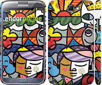 "Чехол на Samsung Galaxy Note 2 N7100 Витраж ""2836c-17"""