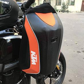 Защитный Мото рюкзак Ktm, фото 2