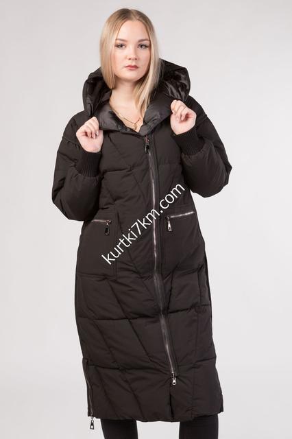 Женские пуховики-пальто