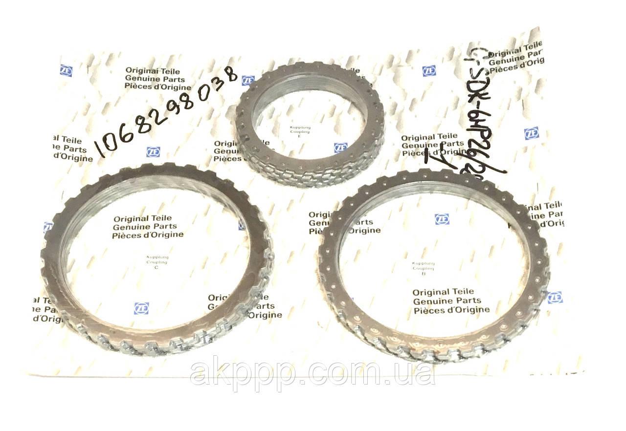 Комплект дисков акпп ZF6HP26, ZF6HP26X; код 1068298038