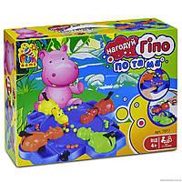 Настільна гра FUN GAME Нагодуй Гіпопотама (7077)