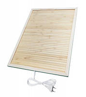 Обогреватель для ног бамбуковый коврик с подогревом Trio 42x34 см 50 Вт