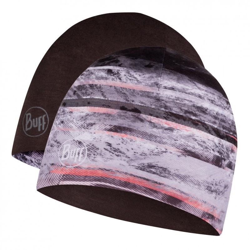 Шапка BUFF Microfiber Reversible Hat tephra multi