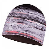 Шапка BUFF Microfiber Reversible Hat tephra multi, фото 2