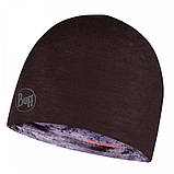Шапка BUFF Microfiber Reversible Hat tephra multi, фото 3