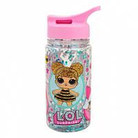 """Бутылка для воды YES с блестками """"LOL Sweety"""", 280мл"""
