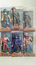 Пирати 6 шт фигурки по 9 см, 6 видов, цена за набор 6 шт, 8910