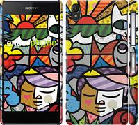 "Чехол на Sony Xperia Z2 D6502/D6503 Витраж ""2836c-43"""