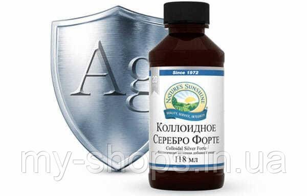 Коллоидное Серебро Форте НСП. Colloidal Silver NSP. Растительные экстракты