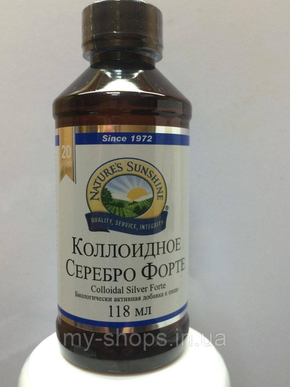Коллоидное Серебро Форте НСП. Colloidal Silver NSP. Лечение простудных заболеваний