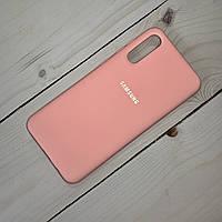 Чохол Silicone Case Samsung Galaxy A50 (2019) Рожевий