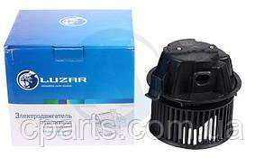 Вентилятор отопителя салона Renault Sandero с кондиционером (Luzar LFh0987)(среднее качество)