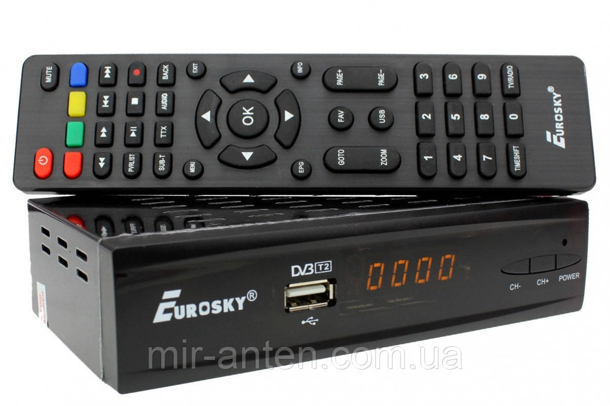 Eurosky ES-19 Combo DVB-S2/T2/C(Акція)