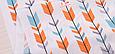 Сатин (хлопковая ткань) стрелы компаньон к лисьим мордочкам, фото 2