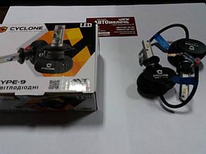 Лампа LED радиатор H1 12-24V 5000K к-т Cyclone