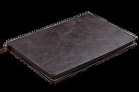 Блокнот деловой BELLAGIO LOGO2U А5, 96л., клетка, обложка искусственная кожа, коричневый