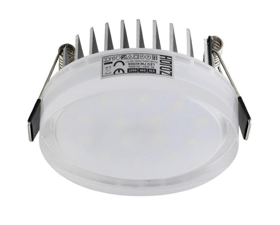Вбудований led світильник коло 7W Valeria-7 Horoz Electric