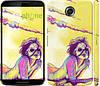 "Чехол на Motorola Nexus 6 Нарисованная девушка ""2835c-67"""