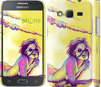 "Чехол на Samsung Galaxy Core Prime G360H Нарисованная девушка ""2835c-76"""
