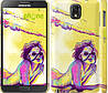 "Чехол на Samsung Galaxy Note 3 N9000 Нарисованная девушка ""2835c-29"""