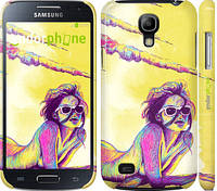 "Чехол на Samsung Galaxy S4 mini Duos GT i9192 Нарисованная девушка ""2835c-63"""