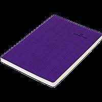 Блокнот деловой COLOR TUNES А5, 96л., линия, обложка искусственная кожа, фиолетовый