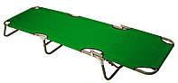 Раскладушка MH-3086 188х56х28 см, зеленая