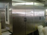 Вертикальный холодильник для продукта в формах