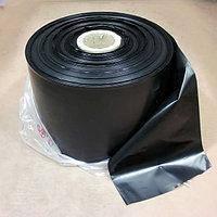 Полиэтиленовый рукав 40мк, 8см*1000м (чёрный)