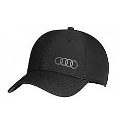 Оригінальна бейсболка Audi Premium, чорна, артикул 3131800100