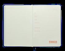Блокнот деловой PROFY LOGO2U 125x195мм, 80л., клетка, обложка искусственная кожа, фиолетовый, фото 2