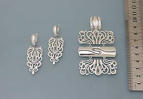 Серьги из серебра 925 пробы ., фото 2