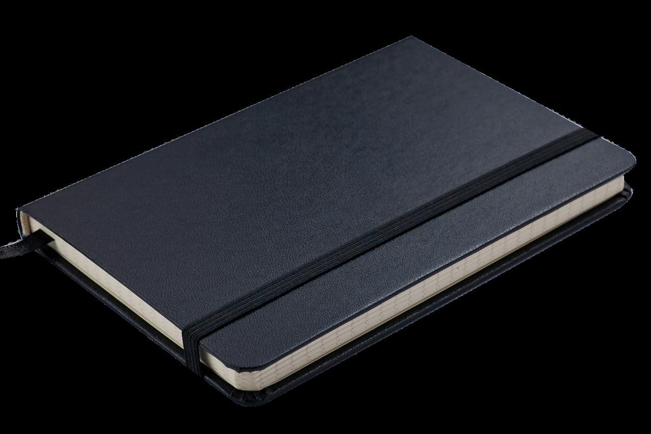 Блокнот деловой STRONG LOGO2U 95x140мм, 80л., клетка, черный