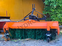 Коммунальная щетка с прямым гидравлическим приводом для мини-тракторов МТЗ 320, Foton, Dongfeng, Kubota