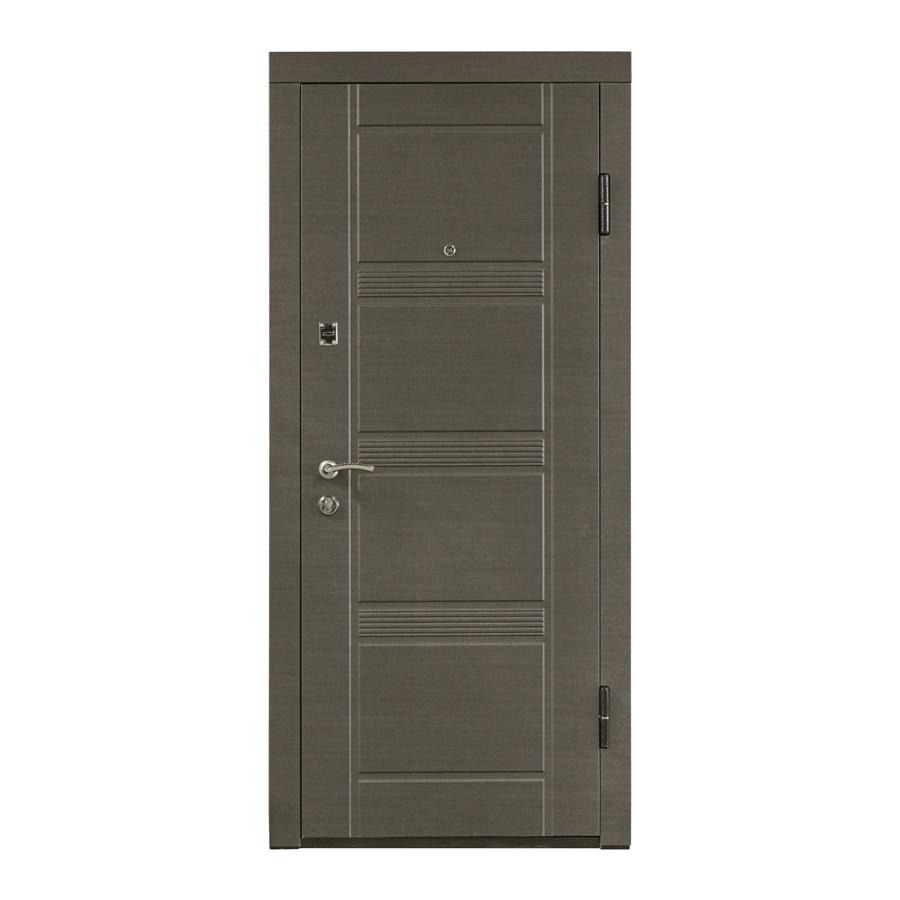 Входные металлические двери с МДФ накладкой ПО-29