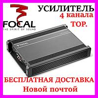 Автомобильный Звуковой усилитель FOCAL AP-4340 (4*70 Вт.(4 Ом), 4*95 Вт.(2 Ом), 2*190 Вт.(4 Ом).