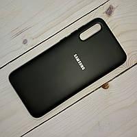 Чехол Silicone Case Samsung Galaxy A70 (2019) Черный, фото 1