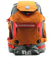 Рюкзак DC под ролики, цвет серый с оранжевым, фото 1
