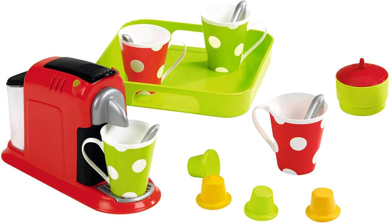 Набір дитячий - Кавоварка з посудом і тацею Ecoiffier Chef  (2614)