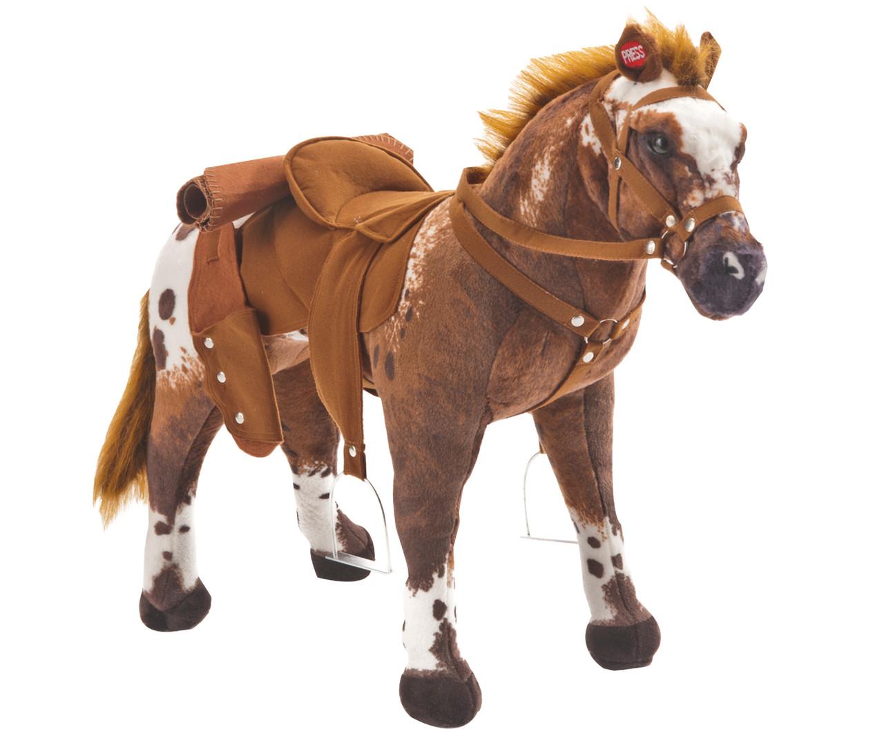 Реалистичная лошадка для детей Happy People 58937 со звуком