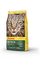 Josera NatureCat корм для кошек с чувствительным пищеварением, беззерновой, 10 кг