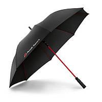 Оригінальний зонт Audi Sport, чорний, артикул 3121400200