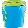 Чинка з контейнером BOOGY, 2 отвори, асорті