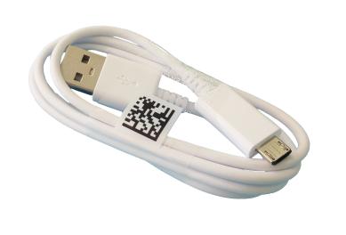 Дата кабель micro-USB для Samsung Galaxy SM-J120, J320, J510, J530, J710, R150, T280, T580, 0,8m, original (PN: GH39-01710D)
