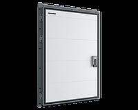 Дверь распашная для охлаждаемых помещений с алюминиевой рамой DoorHan