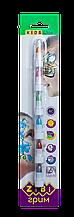Карандаши для грима лица и тела, 6 цветов металлик,  KIDS Line